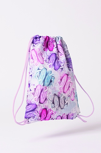 Dance Gallery Drawstring Bag