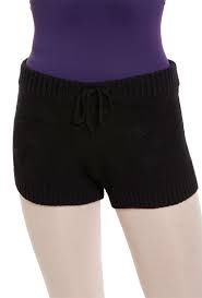 R6564 CABLE KNIT DRAWCORD SHORTS