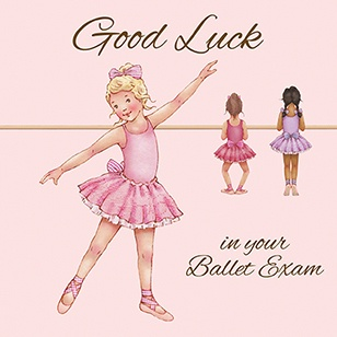 LBGC-12 Card: Good Luck Greeting Card