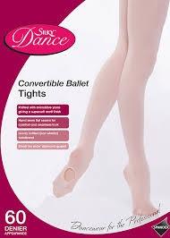 Silky Convertible Ballet Tights