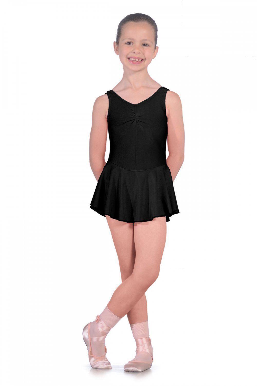 ISTDJB Roch Valley Black Leotard With Skirt