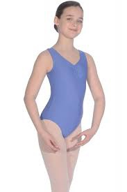 RV2382 Cornflower ISTD Leotard