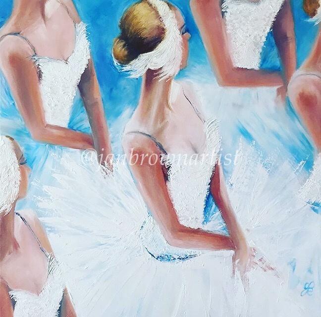 'Swan Lake' Artwork