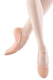 S0255L ECOLE Pink Leather Ballet Shoe