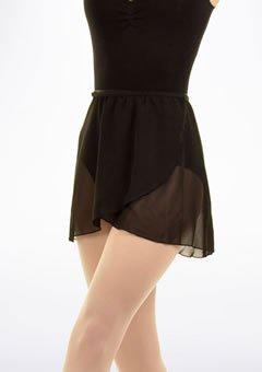 Ballet Wrap Chiffon Skirt